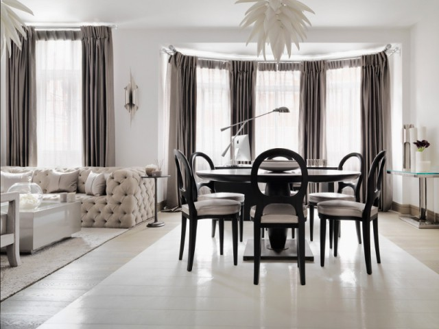 Un appartement hybride entre bureau et résidence secondaire - The London Apartment by Kelly Hoppen