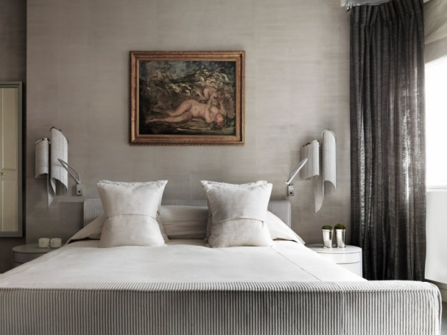 "Un espace nuit ""haute couture"" - The London Apartment by Kelly Hoppen"