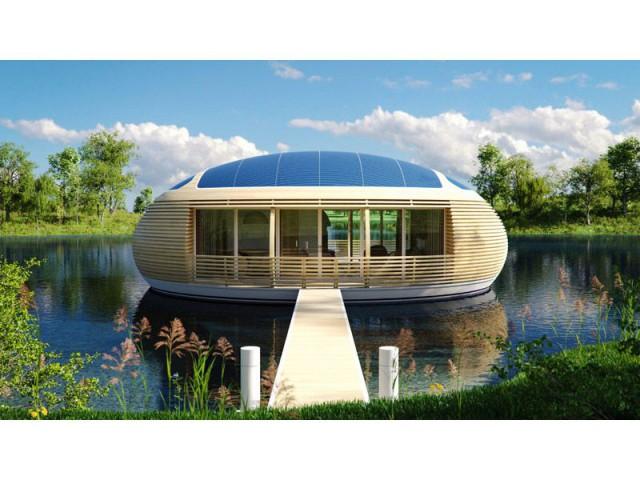 Une maison tout en rondeur - WaterNest 100