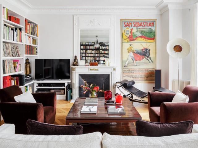 Restructuration complète d'un appartement familial à Paris