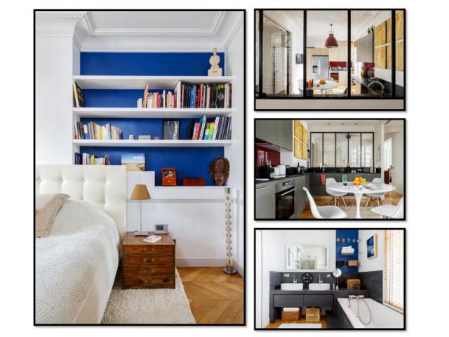 Fiche technique du projet - Restructuration complète d'un appartement familial à Paris