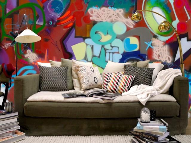 la maison pierre frey investit le street art. Black Bedroom Furniture Sets. Home Design Ideas