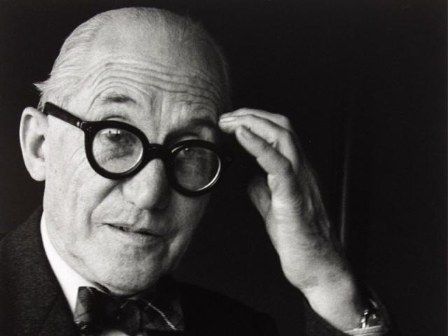Gisèle Freund, Le Corbusier, Paris, 1961