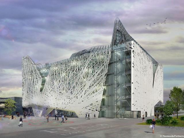 """Le pavillon italien : """"La Pépinière"""" - Expo universelle Milan"""