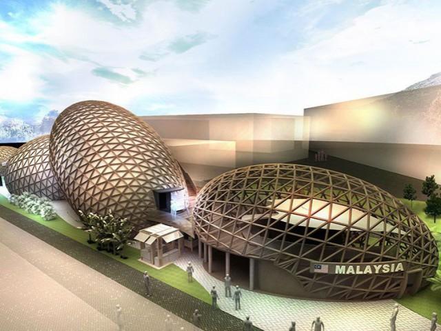 Le pavillon malais : ode au savoir-faire traditionnel - exposition universelle Milan