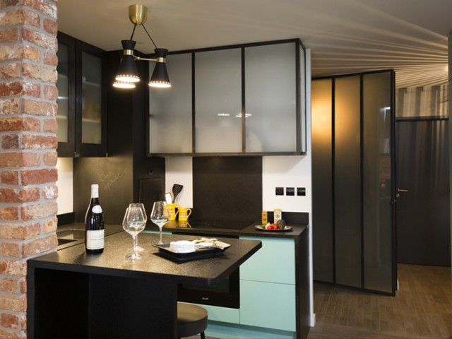 Un appartement neuf s'invente une âme industrielle