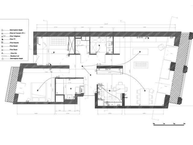 """Recréer du """"faux ancien"""" - Un appartement neuf s'invente une âme industrielle"""