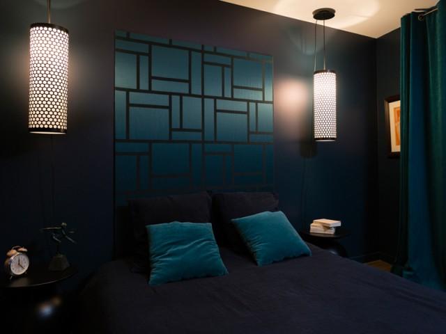 Une chambre ultra cosy - Un appartement neuf s'invente une âme industrielle
