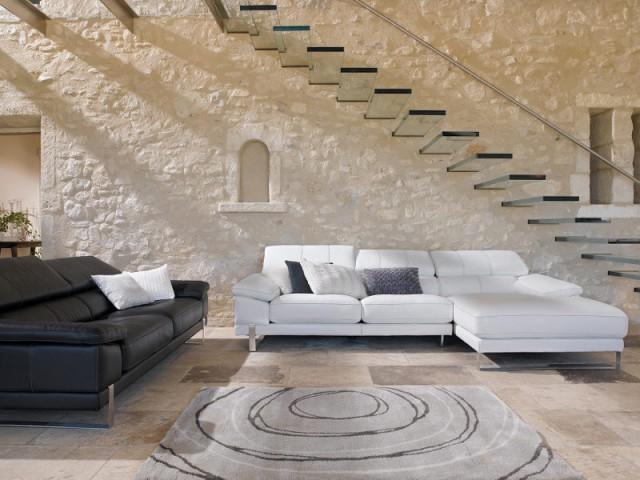 Des marches en verre pour un escalier invisible - Un escalier discret pour mon intérieur