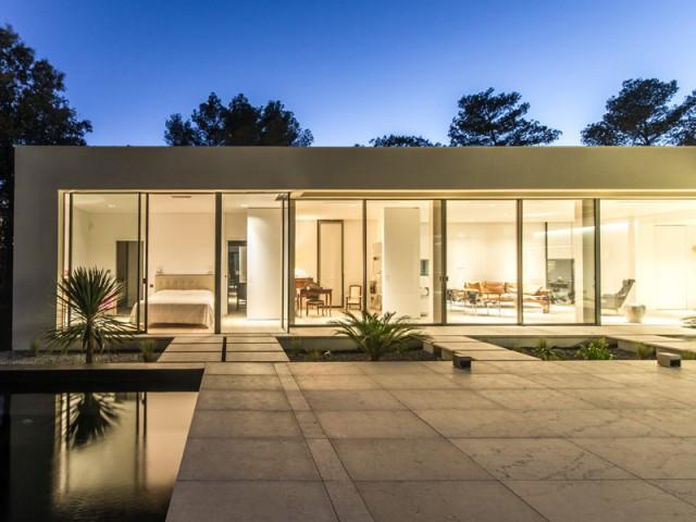Une terrasse ouverte au coeur de la maison - Projet ART - Agence Brengues Le Pavec