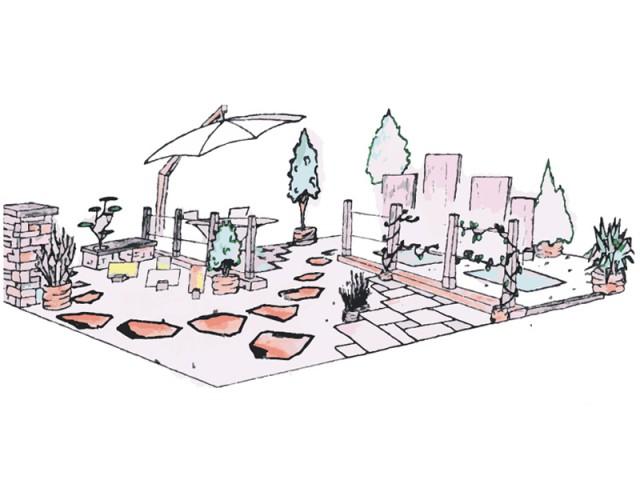 Un jardin à part - Jardins Jardin 2015