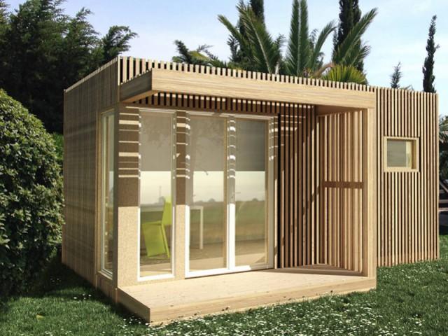 Un bois traité en autoclave - Un studio de jardin modulable