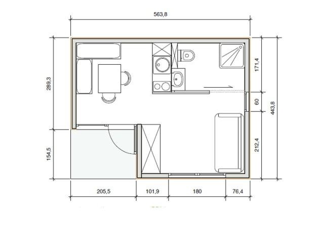 Un module d'habitation bois