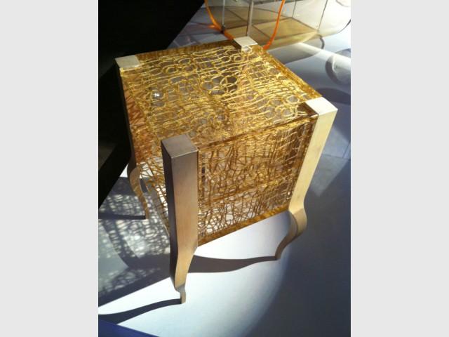 Le Dacryl® pour faire un chevet - Un matériau caméléon qui se fait une place partout