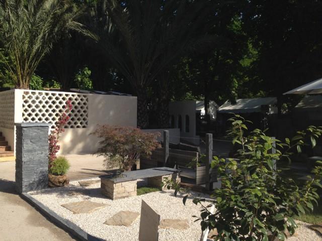 Un premier espace au style japonais - Un jardin à part par Cupastone et Maison à part