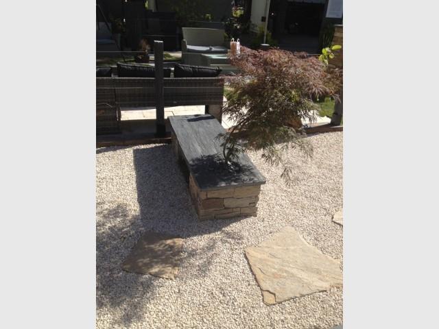 Une végétation au service du minéral - Un jardin à part par Cupastone et Maison à part