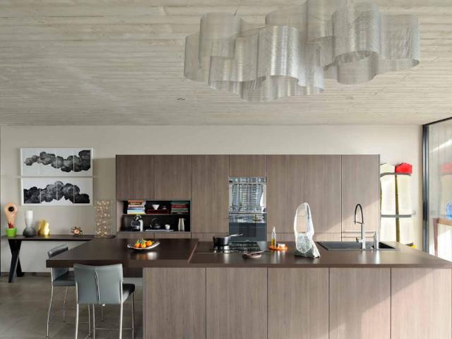 Une cuisine fonctionnelle, vitrine de l'art contemporain  - Villa Cap Arts