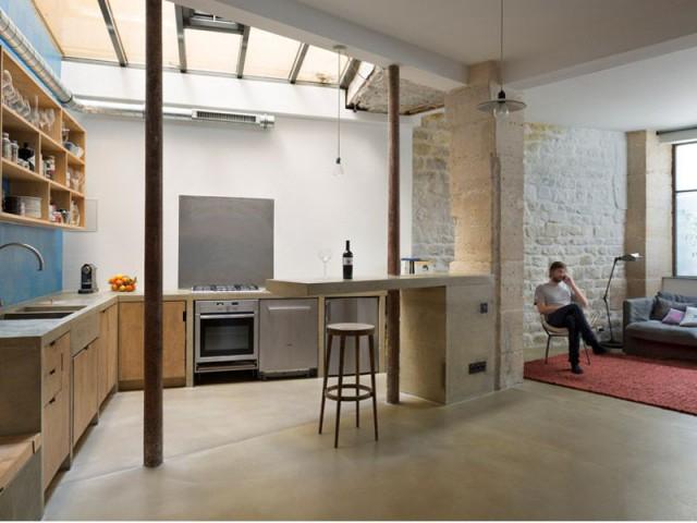 Un appartement, plusieurs vies - loft paris