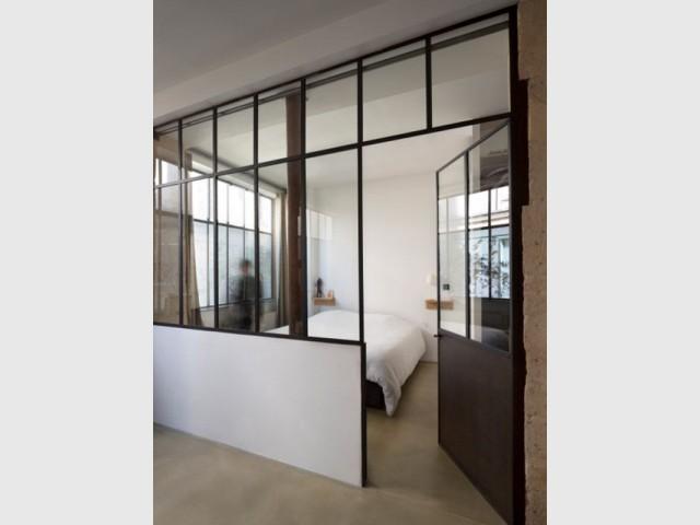 Les chambres redimensionnées - De l'atelier au loft