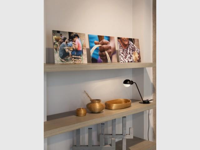 Un projet né d'une rencontre avec des autochtones  - Guto Requena à la gallery Bensimon