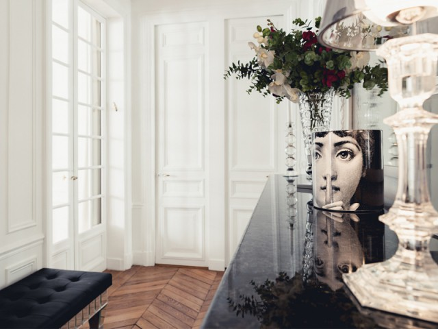Réorganisation intérieure complète - Un appartement aux mille reflets