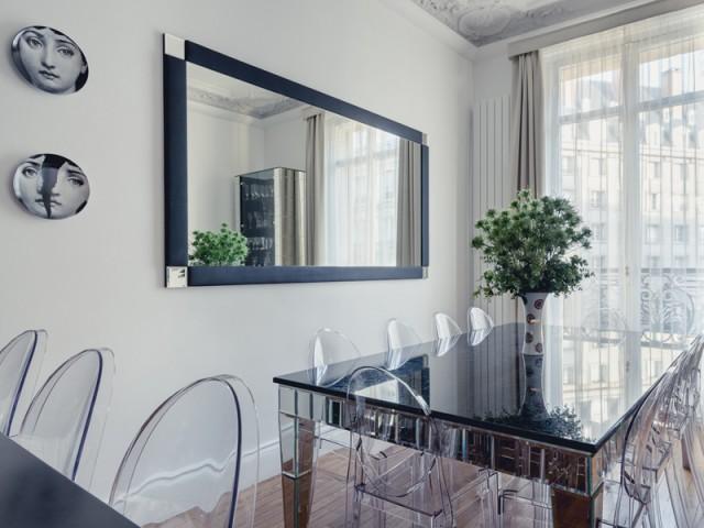 Entre Baccarat et cristal Swarovski - Un appartement aux mille reflets