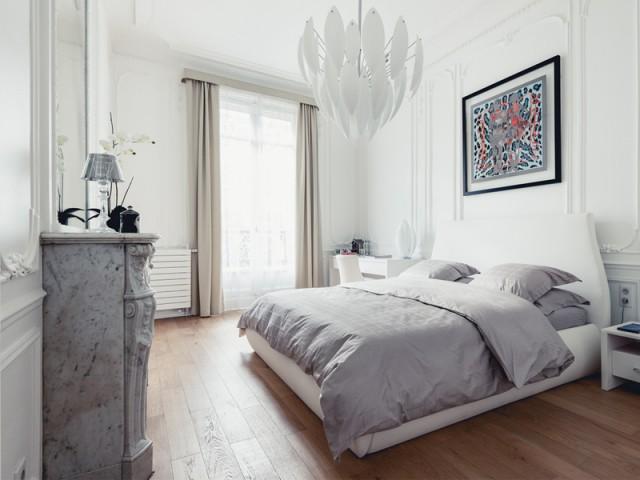 Chambre Hermès, hommage à Paris et à la haute couture - Un appartement aux mille reflets