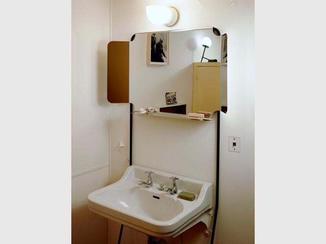 Des salles d'eau attenantes aux chambres - Cité radieuse - Le Corbusier