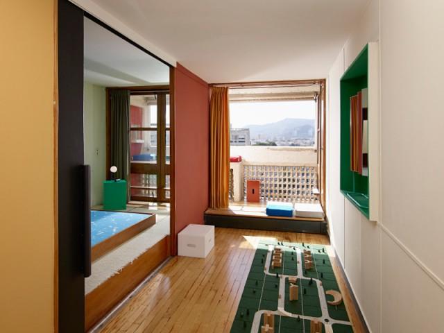 Un espace mixte qui s'adapte au style de vie des familles - Cité radieuse - Le Corbusier