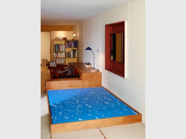 Du mobilier épuré et ergonomique - Cité radieuse - Le Corbusier