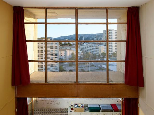 Un appartement non traversant orienté sud  - Cité radieuse - Le Corbusier