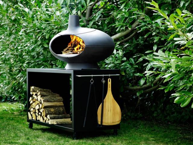 Un barbecue au feu de bois pour de véritables grillades - Un barbecue pour chaque occasion