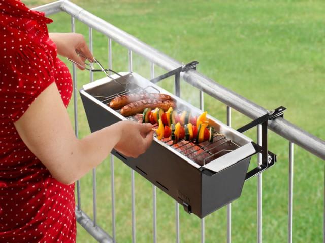 Un mini-barbecue pour les petits balcons - Un barbecue pour chaque occasion