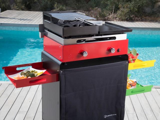 Un barbecue-plancha pour ceux qui veulent varier les cuissons - Un barbecue pour chaque occasion