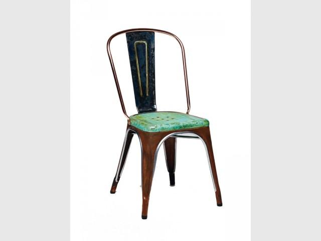 La chaise A revisitée par Lex Pott  - Chaise TOLIX A