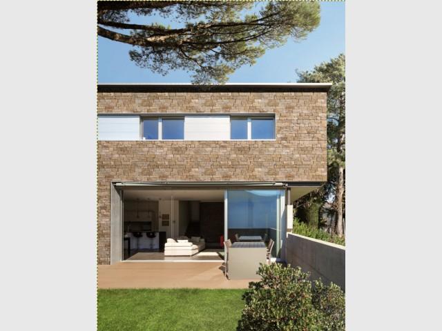 Une façade en pierre naturelle pour une maison authentique - Embellir l'extérieur de sa maison