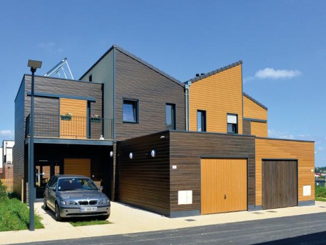 Une façade bardée de bois pour une maison naturelle et originale - Embellir l'extérieur de sa maison