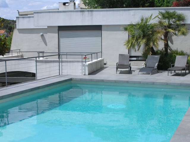 Rénovation d'abords de piscine et terrasses