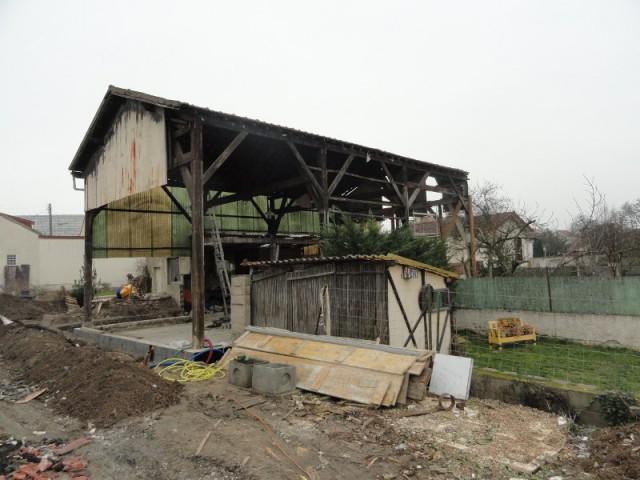 Une construction calquée sur le plan initial du hangar - Un ancien hangar transformé en maison bois à Argentueil