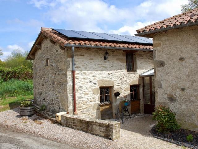 Installation solaire hybride