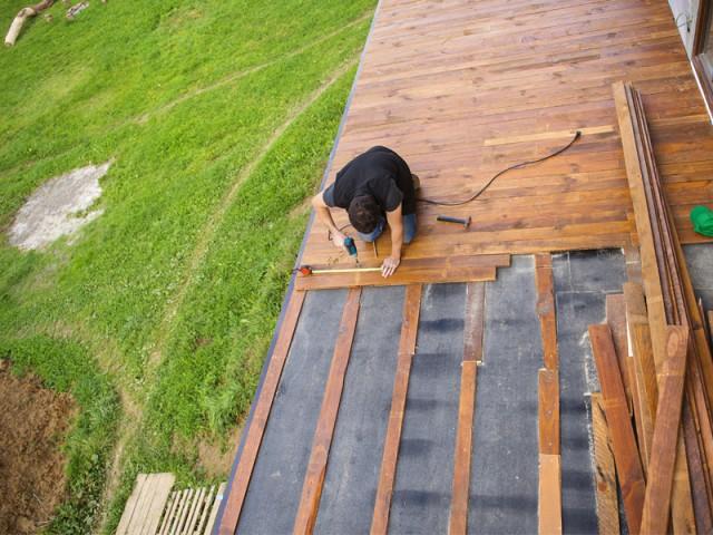 Attractive Le Budget à Prévoir : 1.725 U0026euro;   Installer Une Terrasse Bois : Combien  ça