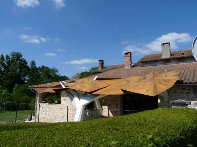 Une symbolique de l'arbre très présente - La Canopée - Abri de garage
