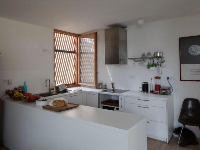 Une cuisine ensoleillée - Maison Cosse - ARBA Architecture