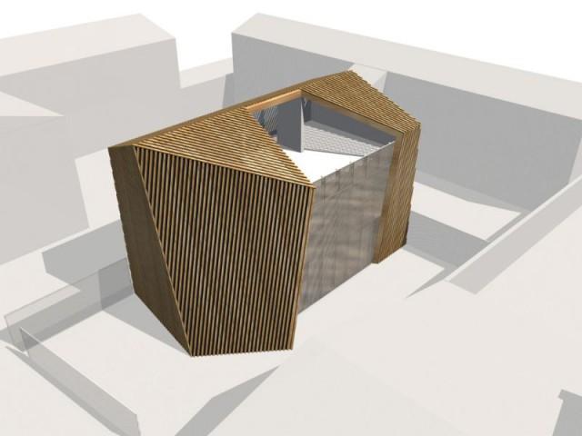 Une maison comme une châtaigne ouverte - Maison Cosse - ARBA Architecture