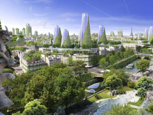 Et si Paris devenait une cité végétale en 2050 - Paris Smart City 2050