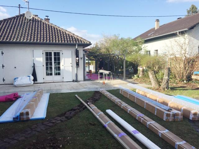 Un chantier rapide  - Rénovation véranda