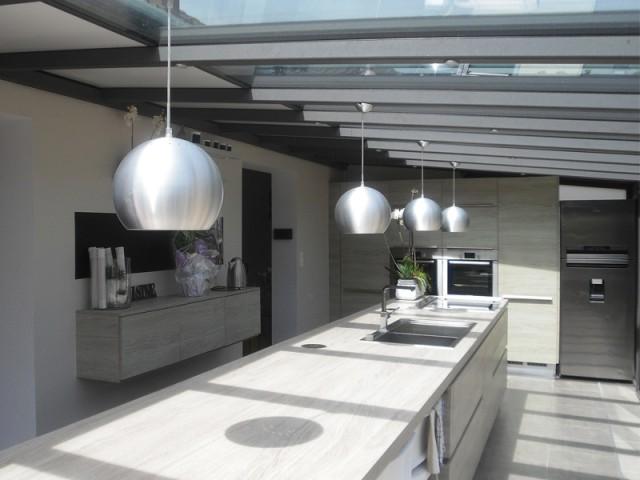 Une cuisine plus fonctionnelle - Rénovation véranda
