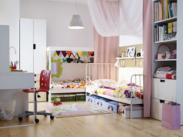 Une chambre d'enfants pour deux ou plus
