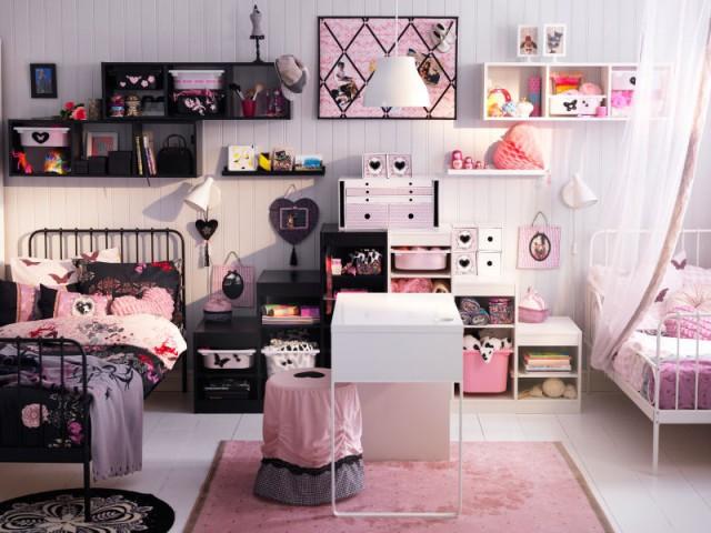 Aménager une chambre pour deux en miroir parfait  - Une chambre d'enfants pour deux ou plus