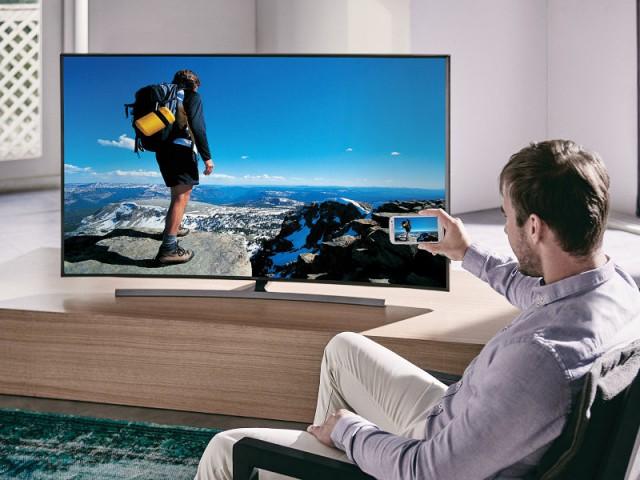 Téléviseur Ultra HD JU7500